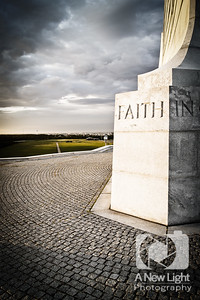Faith at the Wright Brothers Memorial - North Carolina Collection