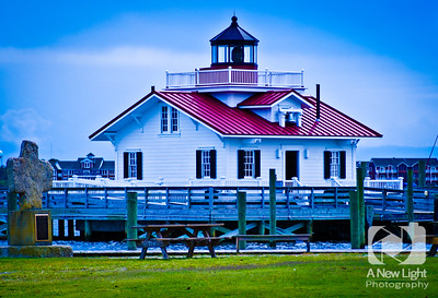 Roanoke Marshes Lighthouse - North Carolina Collection