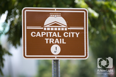 Capital City Trail Sign