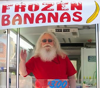 Santa's summer job?