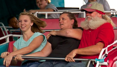 That ride is a real beard splitter