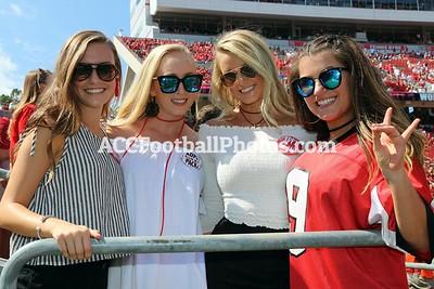 NC State Wolfpack vs Furman Football Photos - 9.16.17
