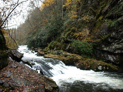Cascades on Nantahala River