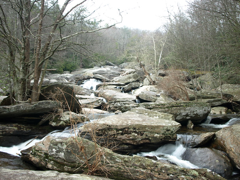 Hebron Rock Colony Falls