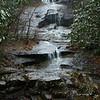 Waterfall next to Hunt Fish Falls