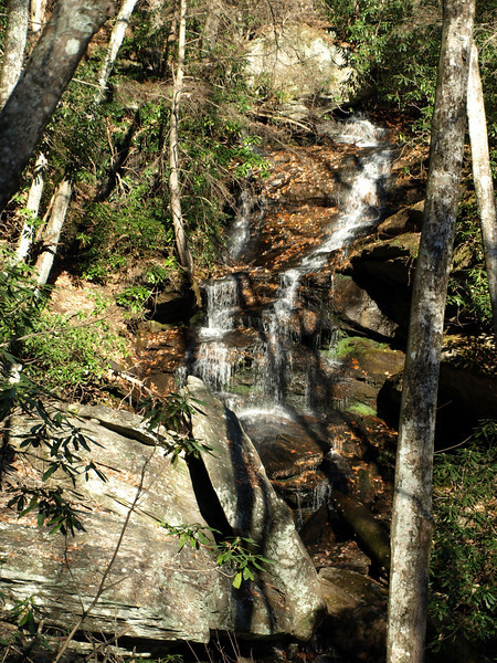 Waterfall on Brooks Creek