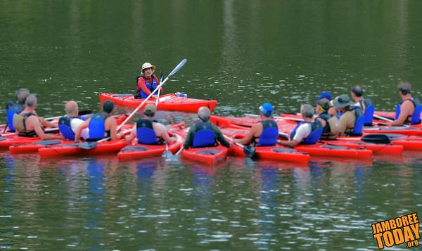 Paddling to Kayaking Merit Badge