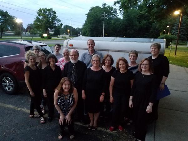 Detroit Handbell Ensemble on Tour