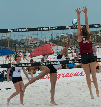 NCAA Beach Volleyball Siesta Key 2013