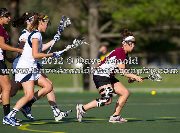 Ally Boertzel (Union - 21) - The Middlebury College women's lacrosse team  defeated the Union College Dutchwomen 15-6, on April 17th, 2012, at Middlebury College in Middlebury, Vermont.