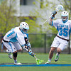 Tufts University began its defense of the NCAA Division III Men's Lacrosse Championship with a 6 to 5 victory over visiting Union College on May 14, 2011, at Tufts University in Medford, Massachusetts.
