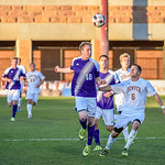 The Summit League Tournament Semifinal soccer game between the University of Denver (DU) and Western Illinois at CIBER Field on the campus of the University of Denver in Denver, Colorado.    Final score of the game  was DU - 1 and Western Illinois - 0.
