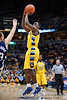 Marquette guard Darius Johnson-Odom (1) hits a jumpshot during the game between the Marquette Golden Eagles and the Notre Dame Fighting Irish at the Bradley Center in Milwaukee, WI. Marquette defeated Notre Dame 79-57.   Mandatory Credit: John Rowland / Southcreek Global