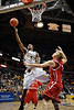 Marquette forward Jimmy Butler (33) drives to the hoop to score during the game between the Marquette Golden Eagles and the South Dakota Coyotes at the Bradley Center in Milwaukee, WI.  Marquette defeated South Dakota 82-69.   Mandatory Credit: John Rowland / Southcreek Global