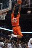 Syracuse forward Kris Joseph (32) can't handle an alley-oop pass during the game between the Marquette Golden Eagles and the Syracuse Orange at the Bradley Center in Milwaukee, WI. Marquette defeated Syracuse 76-70.   Mandatory Credit: John Rowland / Southcreek Global