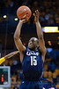 Connecticut guard Kemba Walker (15) shoots during the game between the Marquette Golden Eagles and the Connecticut Huskies at the Bradley Center in Milwaukee, WI. UConn defeated Marquette 76-68.   Mandatory Credit: John Rowland / Southcreek Global