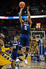 Connecticut guard Kemba Walker (15) shoots a jumpshot during the game between the Marquette Golden Eagles and the Connecticut Huskies at the Bradley Center in Milwaukee, WI. UConn defeated Marquette 76-68.   Mandatory Credit: John Rowland / Southcreek Global