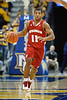 Wisconsin guard Jordan Taylor (11) brings the ball up court during the game between the Marquette Golden Eagles and the Wisconsin Badgers at the Bradley Center in Milwaukee, WI. Wisconsin defeated Marquette 69-64.   Mandatory Credit: John Rowland / Southcreek Global