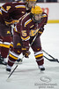 Minnesota winger Joe Miller (15) during the game between the Minnesota Golden Gophers and the Wisconsin Badgers at the Kohl Center in Madison, WI.  Minnesota defeated Wisconsin 5-2.   Mandatory Credit: John Rowland / Southcreek Global