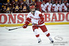 Wisconsin winger Tyler Barnes (7) during the game between the Minnesota Golden Gophers and the Wisconsin Badgers at the Kohl Center in Madison, WI.  Minnesota defeated Wisconsin 5-2.   Mandatory Credit: John Rowland / Southcreek Global