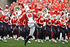 The Wisconsin marching band takes the field prior to the game between the Wisconsin Badgers and the San Jose State Spartans at Camp Randall Stadium in Madison, WI. Wisconsin defeated San Jose State 27-14. Mandatory Credit: John Rowland / Southcreek Global