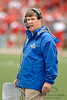 San Jose State head coach Mike MacIntyre during the game between the Wisconsin Badgers and the San Jose State Spartans at Camp Randall Stadium in Madison, WI. Wisconsin defeated San Jose State 27-14. Mandatory Credit: John Rowland / Southcreek Global