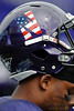 Northwestern unveiled a special logo to commemorate the 9/11 anniversary during the NCAA football game between the Northwestern Wildcats and the Eastern Illinois Panthers at Ryan Field in Evanston, IL.  Northwestern defeated Eastern Illinois 42-21.
