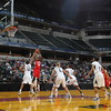 02 APR 2011:  The WBCA High School All-America Game takes place during the 2011 Women's Final Four week in Indianapolis, IN.  Jamie Schwaberow/NCAA Photos
