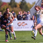 The PAC12 Women's Soccer game between the University of Colorado Buffaloes (CU) and Stanford University (ST) at Prentup Field in Boulder, Colorado.  Final score of the game was the Stanford - 3 and the CU Buffaloes - 0.