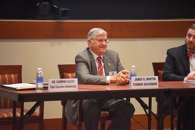 NCACC Panel with Former NC Governor Jim Martin