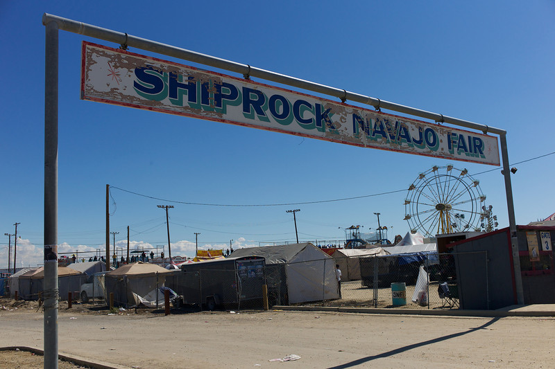 We made it to the final day of the Shiprock Navajo Fair