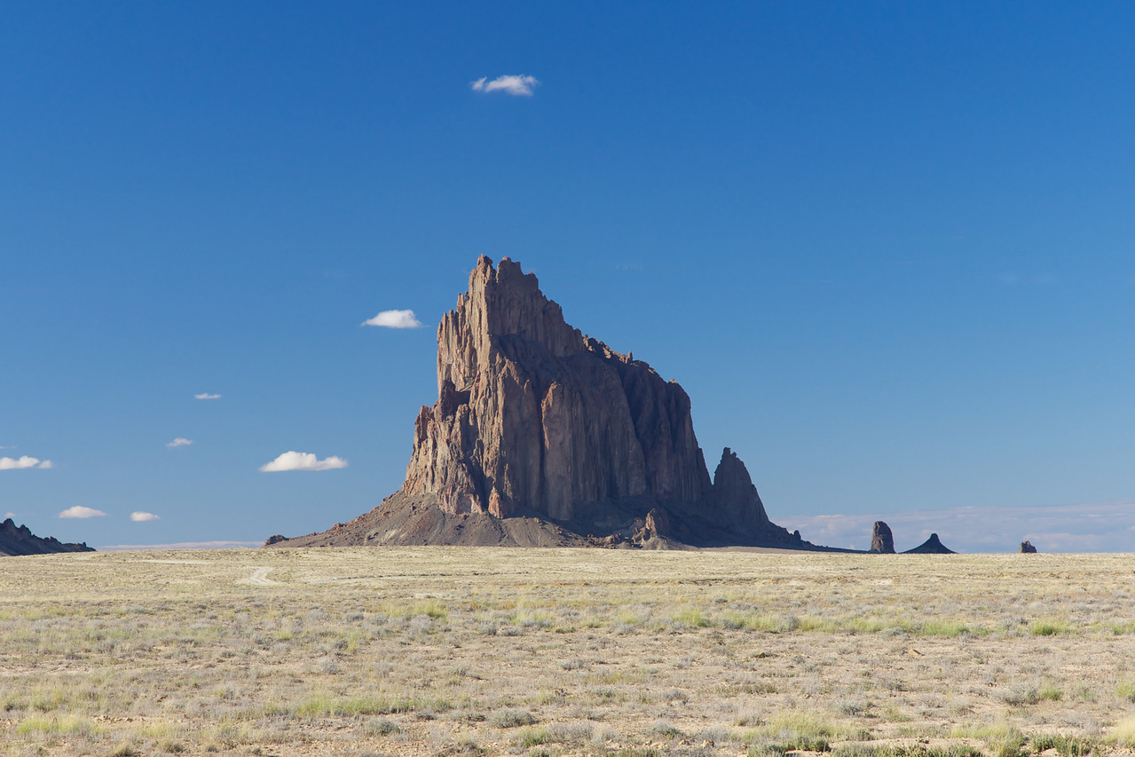 We went to Shiprock NM on the first day.