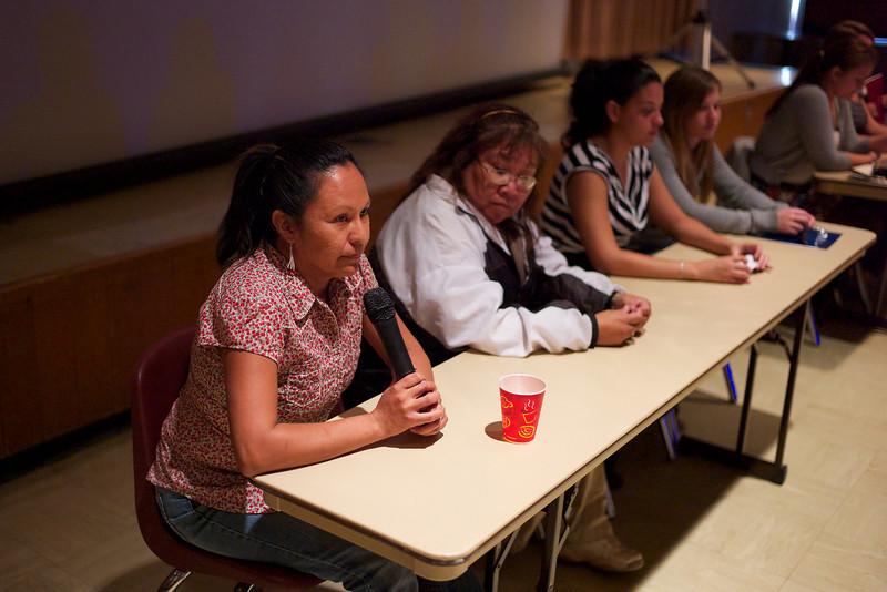 Michelle speaks at seminar