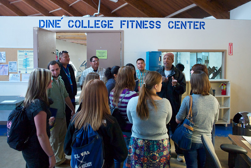Fitness Center with famous football player George LaFrance