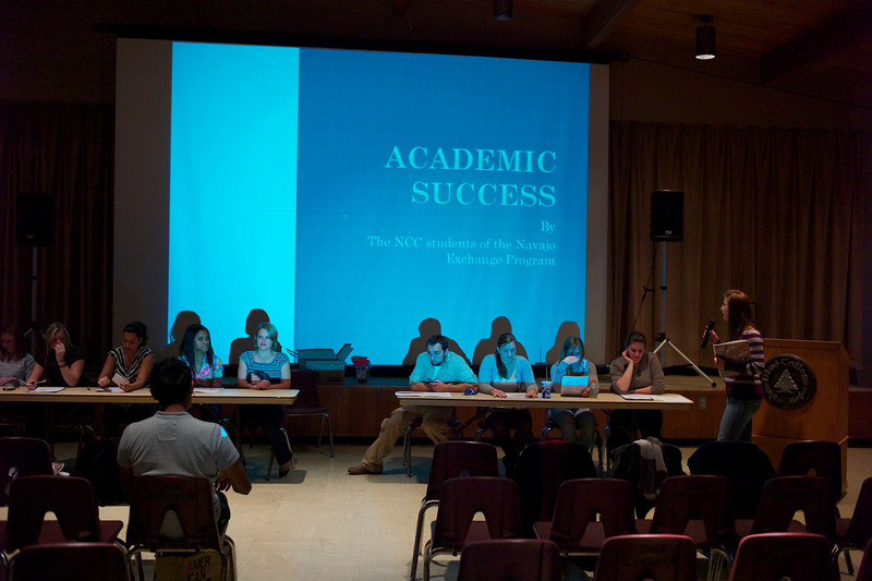 Seminar on Academic Success presented by Northampton students