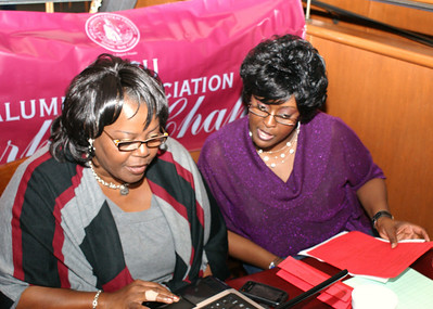 Durham Chapter - NCCU Alumni Association Homecoming Eve  Event at CHAMPPS (10-30-09)