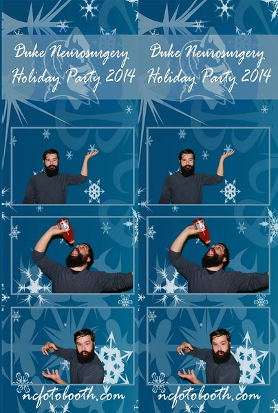 Duke Neurosurgery Holiday Party 2014