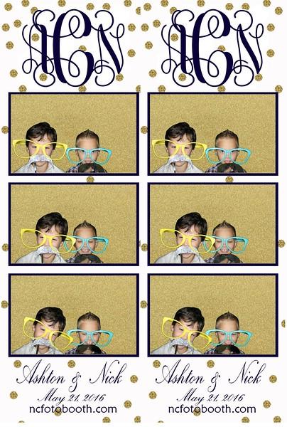 Ashton and Nick's Photo Strips