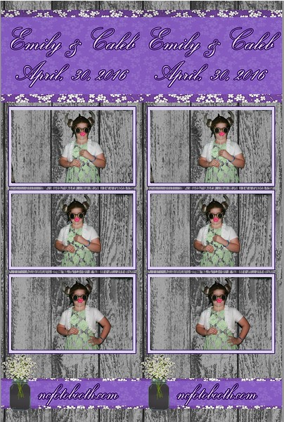 Emily and Caleb's Photo strips