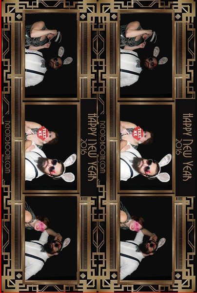New Year Photo Strips