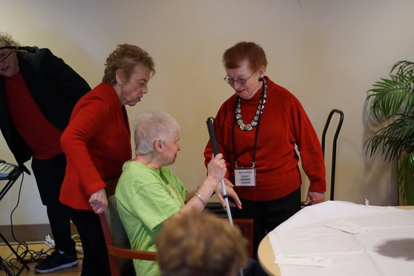 NCJW's Sweetheart Social at the Jewish Home at Rockleigh