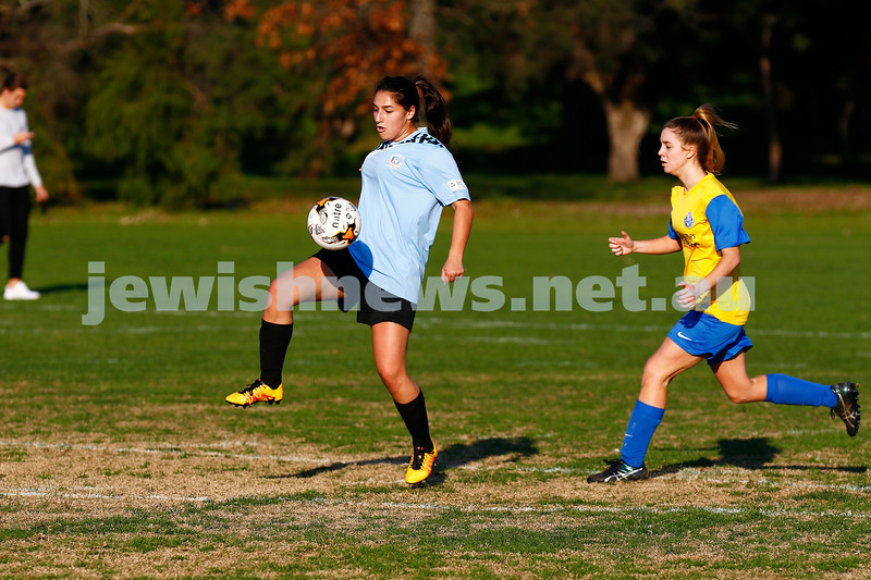 4-6-17. North Caulfield Maccabi Football Club. NCMFC Women drew with Whitehorse United 3-3. Photo: Peter Haskin