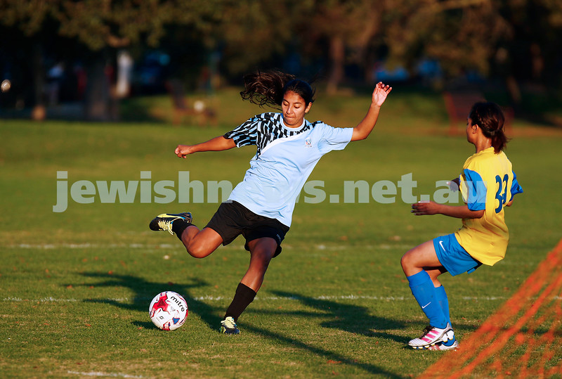 4-6-17. North Caulfield Maccabi Football Club. NCMFC Women drew 3 -3 with Whitehorse United at Caulfield Park. Photo: Peter Haskin