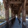 Interior of Covered Bridge