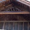 Detail of Covered Bridge Gable