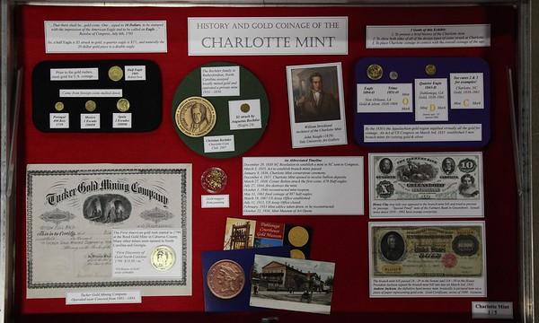 Charlotte Mint Exhibit - 2015