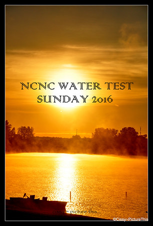 NCNC Sunday Water Test 2016