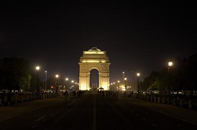 India gate - 20th april night 2011