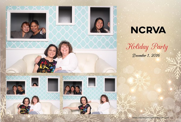 NCRVA Holiday Party 10.01.2016