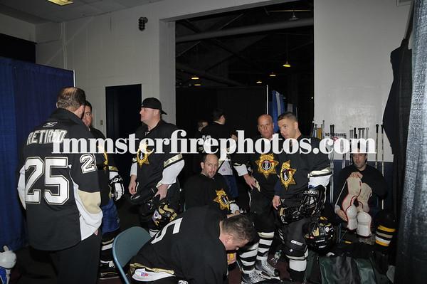 NCSD vs NCPD Michael Califano Menorial hockey game